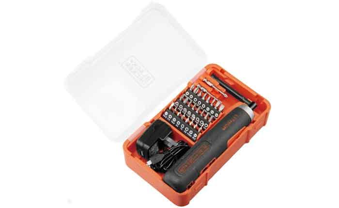 Аккумуляторная отвертка BLACK+DECKER BD40K27 в пластиковой коробке
