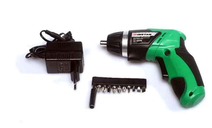 Комплект аккумуляторной отвёртки Инстар АШП 60036