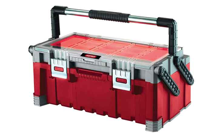 Ящик с органайзером KETER Cantilever tool box 22 (17187311) 56.7x31.4x24.5 см 22