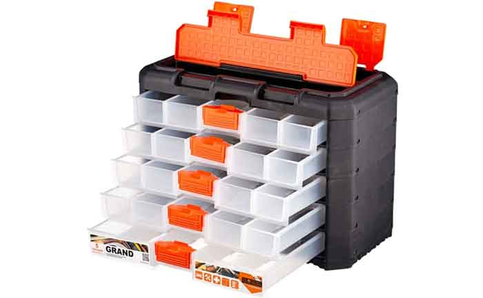Ящик с органайзером BLOCKER Grand - все секции