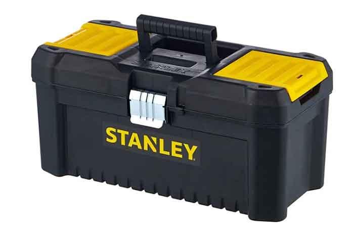 Ящик с органайзером STANLEY STST1-75518 Essential Toolbox Metal Latch 41x20x20 см 16'' черный