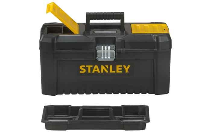 Ящик с органайзером STANLEY STST1-75518 Essential Toolbox Metal Latch с переноской для инструментов