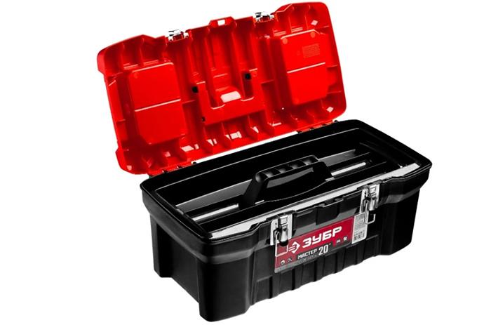 Ящик с органайзером ЗУБР - переноска для инструментов