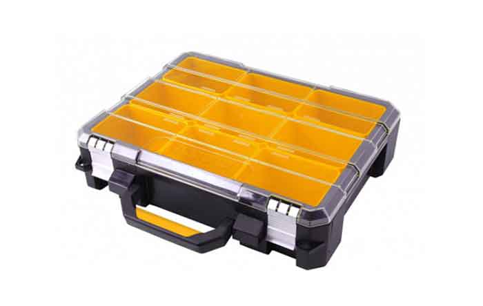 Профессиональный органайзер с металлическими замками 9 отделений Inforce 06-20-10