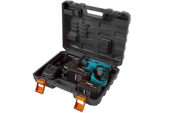 Перфоратор аккумуляторный Bort BHD-18X-BLK в кейсе