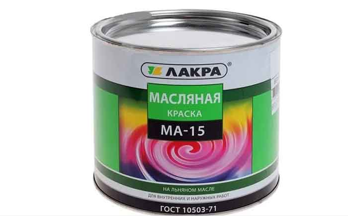 Краска масляная Лакра МА-15,1.9 кг