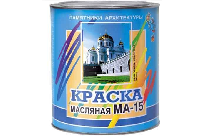 Краска масляная ABC Farben МА-15 полуглянцевая вишневый 0.9 кг