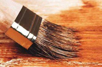 Покраска деревянной поверхности масляной краской