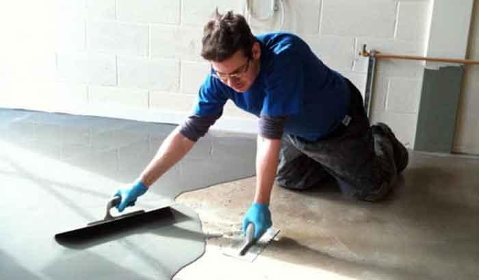 Выравнивания бетонного пола