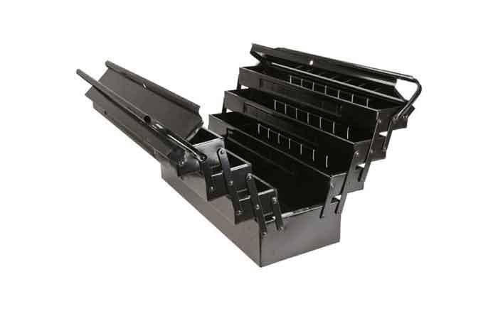 Металлический ящик для инструмента 55x20x27см TOPEX 79R102