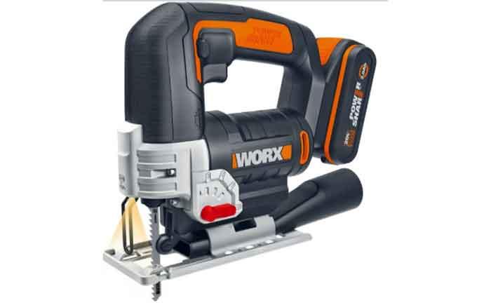 Электролобзик аккумуляторный Worx WX543 2.0Ач