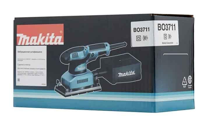 Плоскошлифовальная машина Makita BO3711 в упаковке