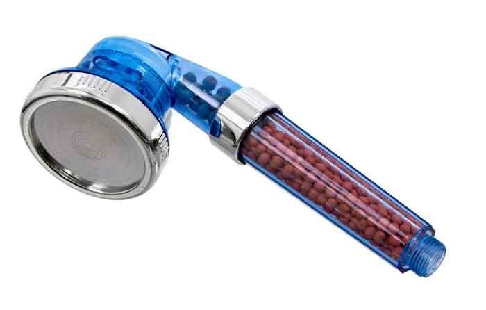 Лейка для душа BRADEX Прилив сил TD 0367 хром/голубой
