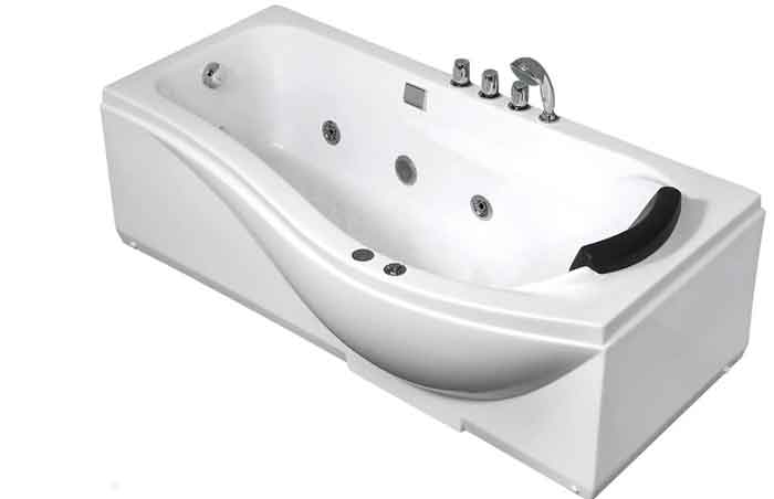 Ванна Gemy G9010 B акрил левосторонняя