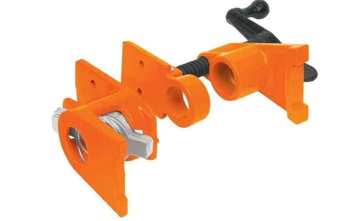 Трубная струбцина TRUPER 17740 оранжевый