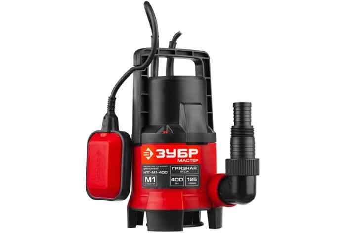 Дренажный насос ЗУБР НПГ-М1-400 (400 Вт)