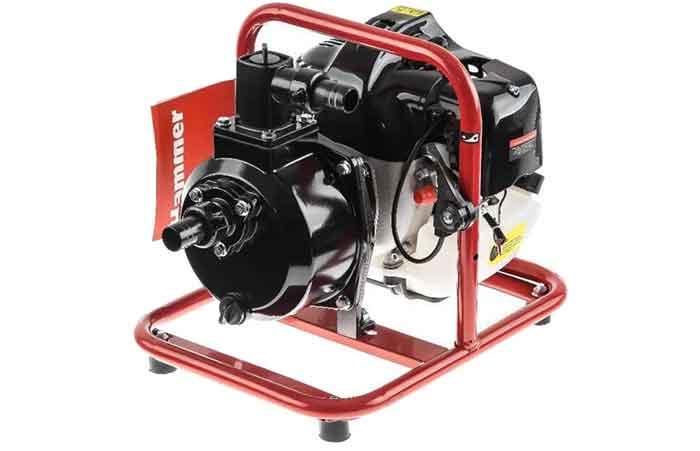 Бензиновая мотопомпа Hammer MTP165 1.8 л.с. 130 л/мин