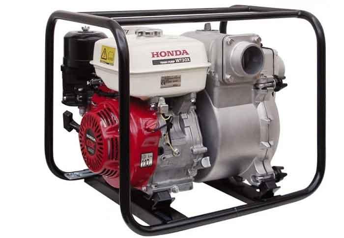 Бензиновая мотопомпа Honda WT30X 1200 л/мин