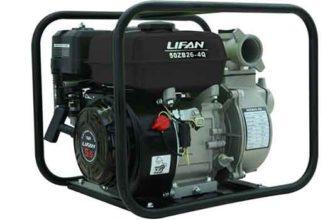 Бензиновая мотопомпа LIFAN 50ZB26-4Q 420 л/мин
