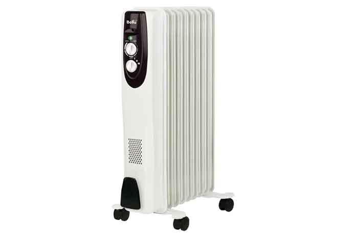 Масляный радиатор Ballu Classic BOH/CL-09 белый
