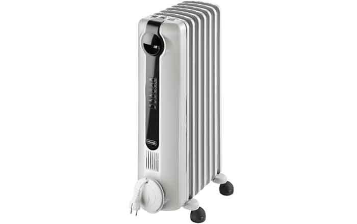 Масляный радиатор De'Longhi TRRS 0715 E белый
