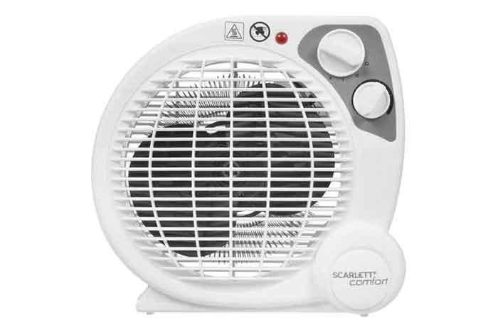 Тепловентилятор Scarlett SC-FH211S белый
