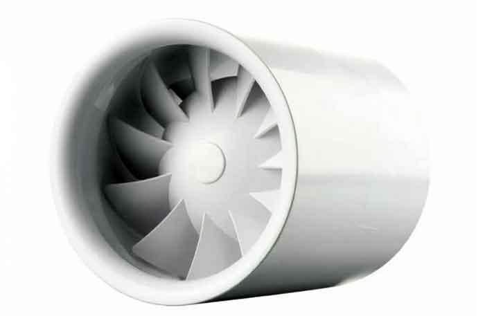 Канальный вентилятор VENTS 100 Квайтлайн белый