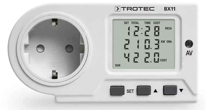 Индивидуальный счётчик энергии TROTEC BX11