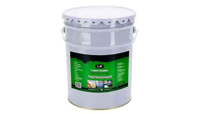 Жидкая резина Liquid Rubber HighBuild S-200 5кг Для разных поверхностей (мастика гидроизоляционная высокопрочная)