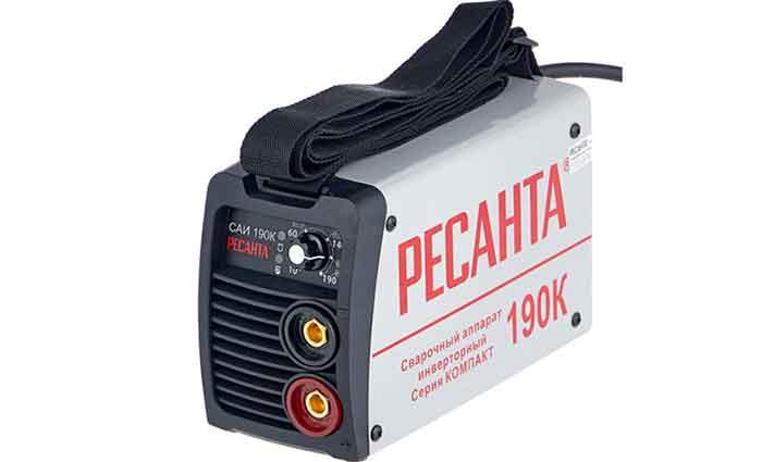 Сварочный аппарат инверторного типа РЕСАНТА САИ-190К MMA