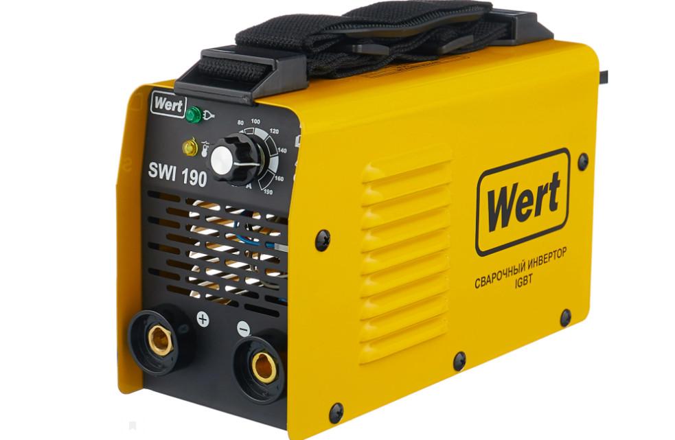 Сварочный аппарат инверторного типа Wert SWI 190 MMA