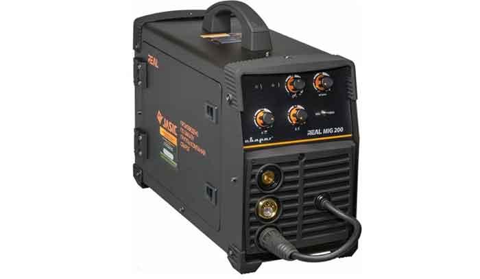 Сварочный аппарат инверторного типа Сварог REAL MIG 200 (N24002N) BLACK MIG/MAG, MMA