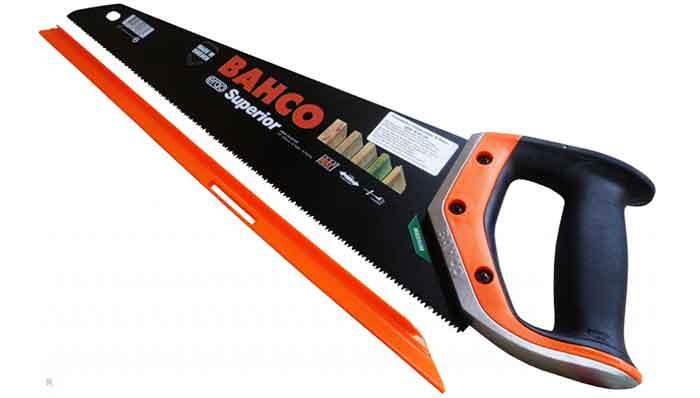 Ножовка по дереву BAHCO Superior 2600-19-XT-HP