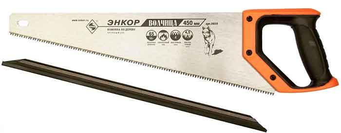 Ножовка по дереву Энкор ВОЛЧИЦА 9859 450 мм