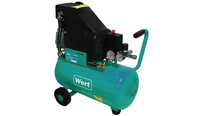 Компрессор масляный Wert AC 300/24, 24 л, 1.5 кВт