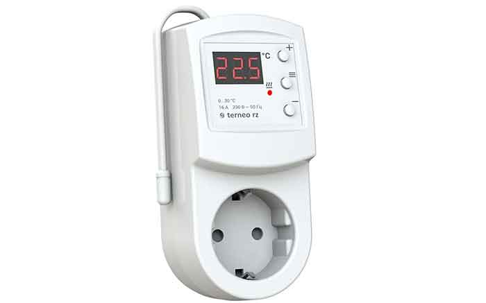 Терморегулятор Terneo RZ белый