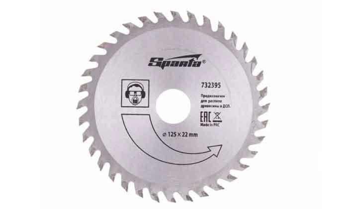 Пильный диск Sparta 732395 125х22 мм