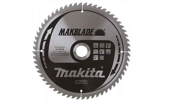 Пильный диск Makita Standart B-29240 260х30 мм